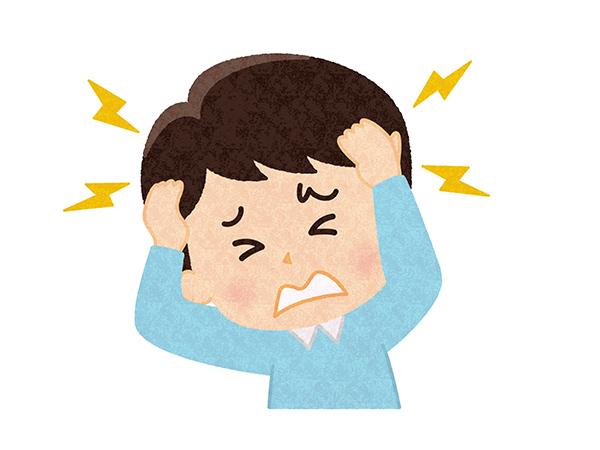 慢性頭痛イメージ
