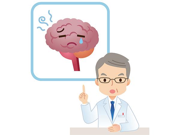 子供の頭痛イメージ